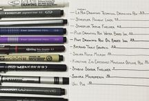 BuJo 7. - a toll / Hogyan épül fel a Bullet Journal? Ezen a táblán a tollválasztásban próbálok segíteni neked.