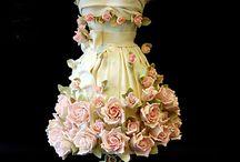 Cakes with flowers I like