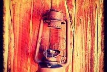 My photographs / Rustic lamp