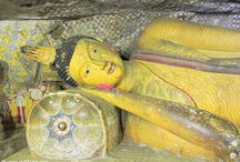 Dambulla Caves, Sri Lanka / Sri Lanka Tourist Places. Dambulla Caves is a UNESCO World Heritage Site. Buddhist Places to visit in Sri Lanka