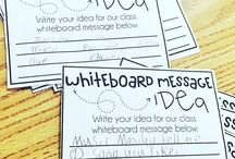 Whiteboard Messages / by Emily B