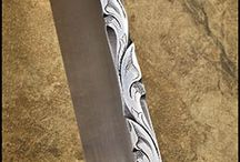 custom blade carving