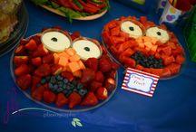 Elmo / Elmo party for L's 1st birthday