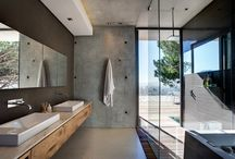 Modern Rustic Bathrooms