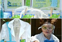 Party Planning: Mad Scientist