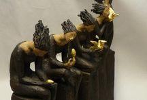 Ingun Dahlin sculptures