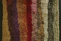 Uhra Simbergin ryijyt - Uhra Simberg's rugs / Uhra Simberg (1914-1979) was Finnish textile artist. She was modern rug designer and master of using colours.