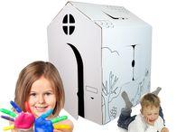 Jouets en Carton Wiplii ! / Wiplii les jouets en carton, solides comme du béton et grands comme un géant pour des enfants créatifs et des souvenirs inoubliables.