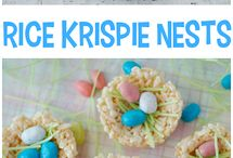 Easter crafts, food and decor