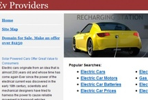 EV Domains / Providers EV refers to all types of providers electric vehicles, batteries and stations for providing electrical power. This is an area with great importance in creating a web site with this name because it allows not only the sale of products related to the theme (electric vehicles), but also with the same advertising related.