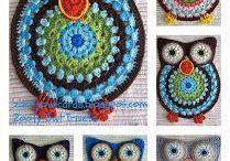 Owls ~ Crochet