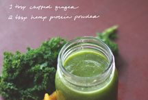 Smooth(ie) Operator / Interesting and delicious-sounding smoothie recipes because we got a Magic Bullet for Christmas. I guess that means I'm going to have to start drinking my kale.