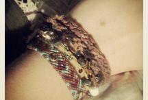 Bracelets / by Ashleigh Johnson