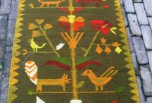 Handwoven Kilim from  the seventies