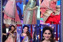 Bollywood Celebrity Lehengas / Be the show stopper with designer collection of your favorite Bollywood Celebrity replica lehengas collection. Pick the best now from http://www.mishreesaree.com/Online/Lehengas/Bollywood-Replica-Lehengas