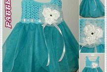 Crochet ROBE JUPE ENFANT