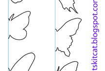 Butterfly cut outs