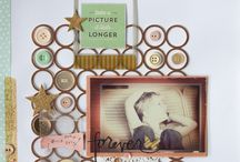 My Scrapbook Layouts / by Jennifer Wilson | Simple Scrapper