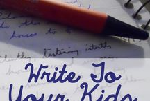 Letters to kids
