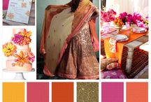 Wedding motifs and colors