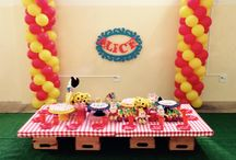 My parties / Festinhas por Dona Mimi