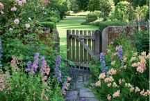 English Cottage Garden and Yard