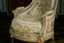 Barok stoelen en banken
