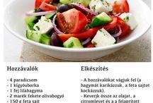 Egészséges saláták