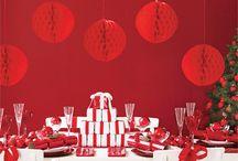 Table decoration christmas