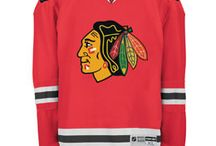 Chicago Blackhawks - Official NHL Hockey Jerseys / We are the leading manufacturer of professional sports lettering & numbering and we have been selling officially licensed NHL jerseys and apparel via the internet since 1999. Visit: CoolHockey.com for more!