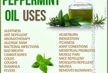 Aromatherapy - peppermint / by Cathy Mowbray