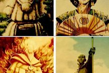 Legend of Aang/ Legend of Korra