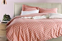 Lively Hues for Bedroom / Introducing Qbedding's Dots& Stripe Series, combination of lively polka dots and classic stripes.