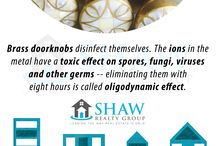 Home Facts / Stuff we didn't usually know about our home and other facts about houses!