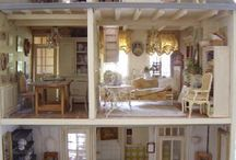 Vintage Dollhouse/Miniatures/Models / by Destiny Lawson
