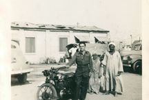 Peter Watkin WW 2 North Africa / Riding Dispatch for the RAF. Pictures from the collection of Peter Watkin.