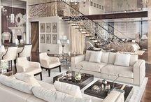 Diseño interior moderno y caro