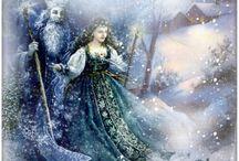 Winter-Weihnachten