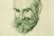 Портреты карандаш