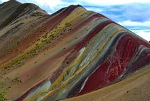 Rainbow Mountains / Vinicunca Mountains / Yeah, it's true, there are  rainbow mountains in Cusco. So get ready for a mind-blowing experience as you embark on this once in a lifetime trek to the highest mountain in Cusco and the stunning rainbow mountains.