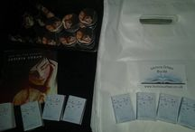 My merchandise / This board contains merchandise I have either made or bought for my readers