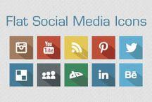 Social Media Icons for Designs