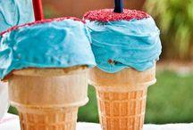 Cupcake cone
