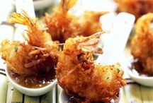 Seafood Sampler / Collection of seafood recipes