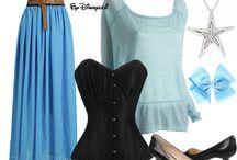 Blue costumes