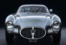 Old sport cars - Maserati & Fiat [Cisitalia] & OSCA (Abarth, Zagato, Pininfarina)