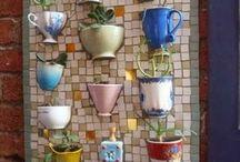 Mozaika i ogród
