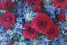 Men's funeral flowers
