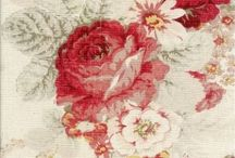 Waverly Norfolk Rose / My absolute, all-time favorite fabric!
