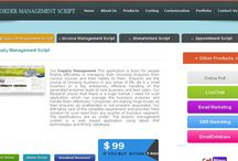 Enquiry Management Script / http://ordermanagementscript.com/enquiry-management-script.html Enquiry management script is developed in PHP, MySql, and AJAX so you can easily access the entire script. Based on our 10 years experience we develop user friendly and high secure products. If you like to move your company paperless you can buy our product to reduce overload and control entire management.